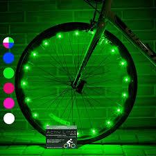 Best Bike Wheel Lights Amazon Com Super Cool Bike Wheel Lights 1 Tire Pink Top