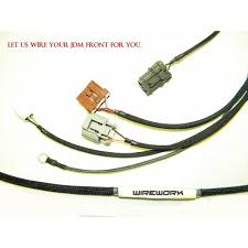 headlight harness wireworx wireworx honda jdm integra
