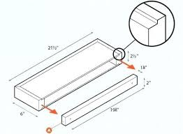 how to hang floating shelves on drywall floating shelf installation how to install shelves drywall