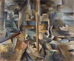 georges braque harbor i like the work of braque as it is deeply textured and shows obvious layers
