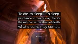 What Dreams May Come Shakespeare Quote