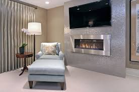 Photo 11 Of 11 Muskoka Electric Fireplace Bedroom   Transitional With Barbara Barry
