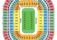 Amazing Nissan Stadium Seating Chart Seating Chart