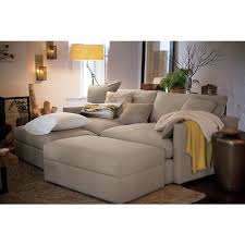 Image Oversized This Design Is Just Like Regular Soft And Long Couch But More Of Everything Lounge Sofa From Crate And Barrel The Awesome Daily The 19 Most Comfortable Couches Of All Time To Make Sure You Never