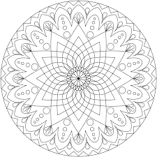 Small Picture Free Printable Mandalas To Color And Free Printable Mandala