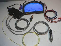 need help on a race data digital display dash rpm problems future iq3 display tach input gm water temp sensor 0 150 oil pressure senosr cables software programming terminator caps