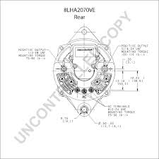 prestolite leece neville Prestolite Alternator Wiring Diagram 8lha2070ve rear dim drawing prestolite marine alternator wiring diagram