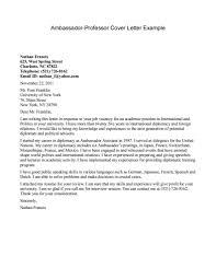 Cover Letter For Professor Entry Level Adjunct Professor Cover