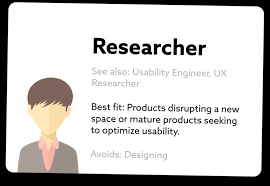 2 researcher alternate titles usability engineer usability engineer