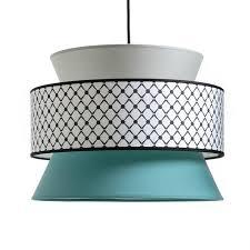 turquoise light shade pendant ceiling