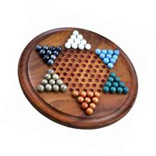 Wooden Game With Marbles Jumbo Chinese Checkers Wooden Board Game With Marbles Group Games 31