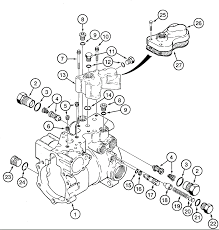 CASE 1835C Power Train TANDEM PUMP ASSEMBLY REAR DRIVE PUMP HOUSING VALVES AND FILTER ADAPTER 0rSC large 2 way gang light switch wiring diagram,gang wiring diagrams image on fuse box for fiat punto grande