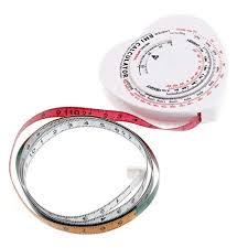 Weight Loss Recorder Tape Measures Heart Bmi Body Mass Index Tape Measure