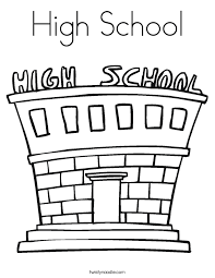 Small Picture High School Coloring Pages Easy To Color High School Musical