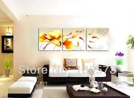 wall paintings for living room living room best living room wall decor ideas handmade fish in