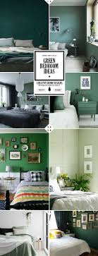 Style Guide: Green Bedroom Ideas