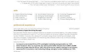 good marketing resumes samples of good resume wikirian com