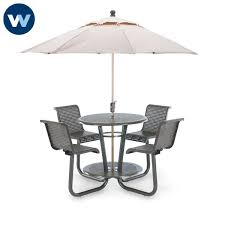 camino series 42 bar height outdoor table with chairs portable loading zoom