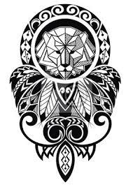 Fototapeta Tetování Design S Lvem