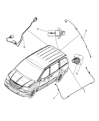 2008 chrysler town country wiring chassis underbody diagram i2188679