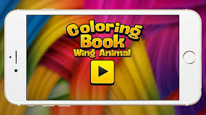 Small Picture Wing Animal coloring book pastel crayon peacock and flamingo show
