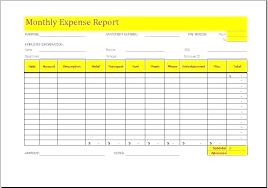 Expense Report Forms Free Free Small Simple Travel Expense Report From Simple Monthly