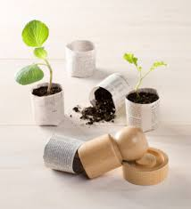 eco friendly office. reuseit paper pot maker tool eco friendly office
