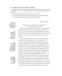 Word Research Paper Template Policy Discussion Paper Template Discussion Paper Template