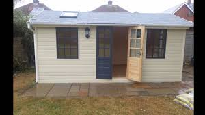 office garden shed. Luxury Garden Shed, Studio, Office, Summer House - Fully Insulated 3 M X 5 YouTube Office Shed