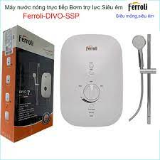 Khuyến mãi hàng chính hãng Máy nước nóng trực tiếp Ferroli bơm Divo SSP,  Best sales bình nước nóng chống giật có bơm sử dụng tốt