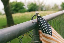 Flag, America, Independence Day, 4th of July, faded flag, fence by Ida  Kelley. Photo stock - Snapwire