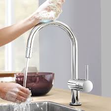 Grohe Concetto Kitchen Faucet Grohe Minta Single Handle Deck Mount Kitchen Faucet With Dual