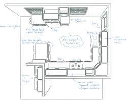 Small Picture Design Kitchen Floor Plan Kitchen Design