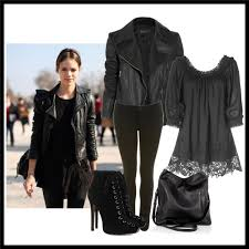 leather jacket outfits style
