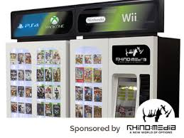 Game Vending Machine
