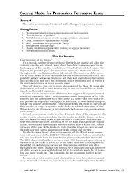 Scoring Model For Persuasion Persuasive Essay Prentice Hall