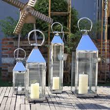 metal and glass lantern indoor outdoor