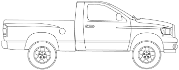 14 Ram drawing truck dodge for free download on Ayoqq.org