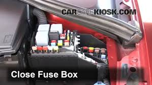replace a fuse 2011 2016 volvo s60 2012 volvo s60 t5 2 5l 5 cyl 6 replace cover secure the cover and test component