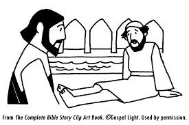 Jesus Heals Man By Pool Teaching Resources Jesus Heals The Man At