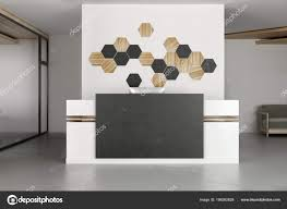 Contemporary office reception Architecture Contemporary Office Interior Reception Desk Decor Mosaic Pattern Concrete Wall Stock Photo Depositphotos Contemporary Office Interior Reception Desk Decor Mosaic Pattern