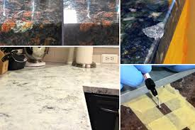 repairing a chip in granite countertop chipped granite countertop
