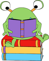 Image result for reading a book clipart