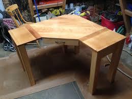 Hand Crafted Custom Corner Desk by Black Swamp Furnishings | CustomMade.com