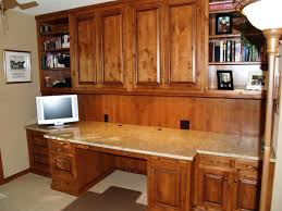 built office furniture plans. Fascinating Built In Partners Desk Home Office Furniture Plans T