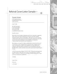 Resume Cover Letter Referral Jobsxs Com