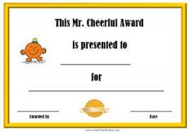 Superlative Certificate Free Printable Superlative Awards Customize Online