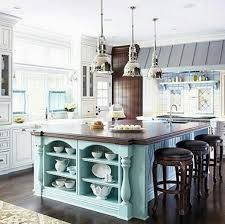 Island decor ideas Thrifty Decor Blue Island Moercar Gorgeous Kitchen Island Decorating Ideas For Fall 2016 Lifestyle