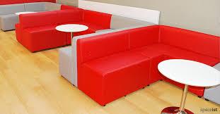 corner seating furniture. red corner modular cube booth seating furniture g