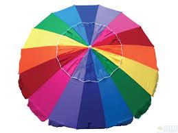 Image Heavy Duty Shade Australia Beachkit Rainbow Beach Umbrella Shade Australia Shade Australia